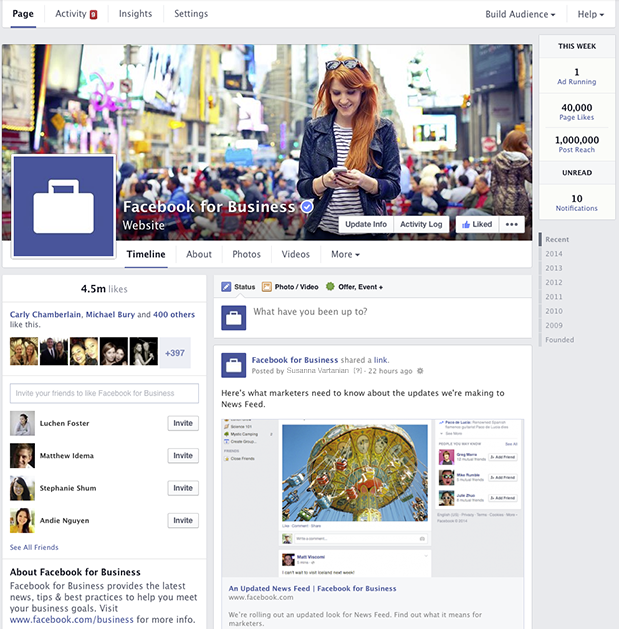 New-Facebook-look-for-Business-Pages