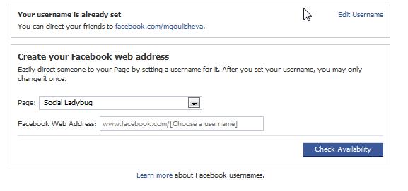 custom-facebook-url